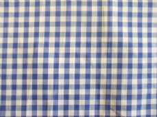 "1/4"" Gingham Quality 100% Cotton Fabric in Royal Blue"